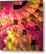 Pink Windows Metal Print