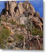 Pinnacle Peak Metal Print
