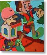 Pinocchio Metal Print