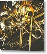 Pins Of Horror Fashion Metal Print