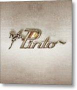 Pinto Car Badge Metal Print