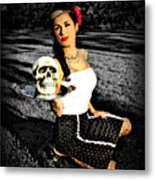 Pinup And Percy Metal Print