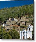 Piodao Village Church Metal Print
