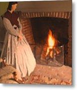 Pioneer Fire Impressions Metal Print