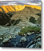Pioneer Mountains Metal Print
