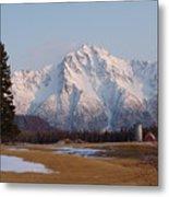 Pioneer Peak Alaska Metal Print