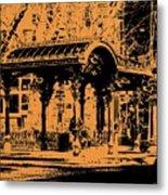 Pioneer Square Pergola Metal Print