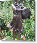 Pioneer Woman In Color Metal Print