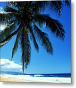 Pipeline Beach Metal Print