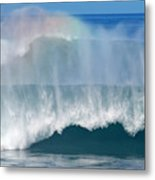 Pipeline Rainbow Metal Print