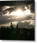 Piprell Lake Saskatchewan Metal Print