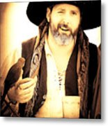Pirate Mattie Metal Print