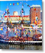 Pirate Colors Metal Print