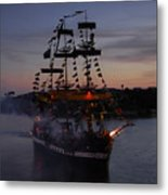 Pirate Invasion Metal Print