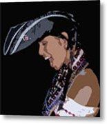 Pirate Lady Metal Print