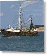 Pirate One Metal Print