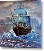 Pirate Ship 1 Metal Print