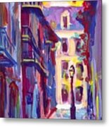 Pirates Alley New Orleans Metal Print