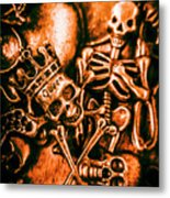 Pirates Treasure Box Metal Print