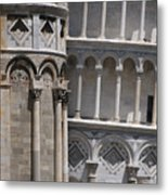 Pisa Leaning Tower 4637 Metal Print