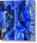 Pisces And Her Divine Reaction Metal Print