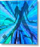 Pisces Are Never Alone Metal Print