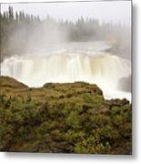 Pisew Falls Northern Manitoba Canada Metal Print