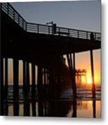 Pismo Beach Pier California 2 Metal Print