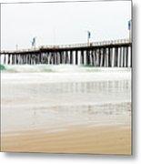 Pismo Beach Pier Metal Print