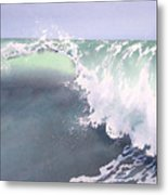 Pismo Wave Number Eight Metal Print