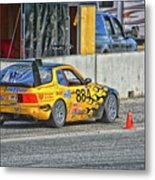 Pist 'n Broken Racing Metal Print