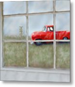 Pit Road--fire And Ice  Metal Print