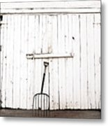 Pitch Fork Metal Print