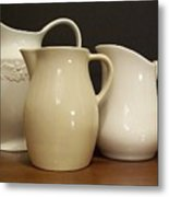 Pitcher Collection Metal Print