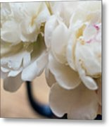 Pitcher Of Peonies Metal Print
