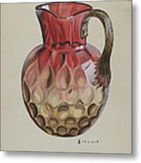 Pitcher Metal Print