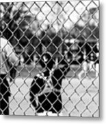 Pitchers And Catchers Metal Print