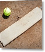 Pitchers Mound Metal Print