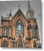 Pittsburgh Cathedral Metal Print by David Bearden