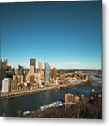 Pittsburgh Metal Print