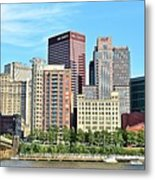 Pittsburgh Panorama June 2017 Metal Print