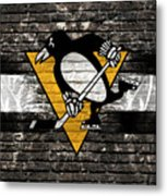 Pittsburgh Penguins Nhl Hockey Metal Print