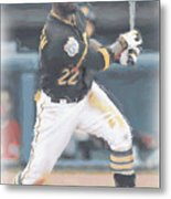 Pittsburgh Pirates Andrew Mccutchen 3 Metal Print