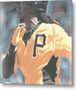 Pittsburgh Pirates Andrew Mccutchen Metal Print