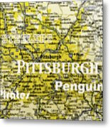 Pittsburgh Sports Metal Print
