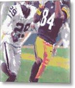 Pittsburgh Steelers Antonio Brown 1 Metal Print