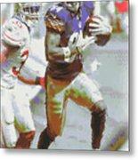 Pittsburgh Steelers Antonio Brown 3 Metal Print
