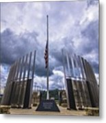 Pittsburgh War Memorial Just Outside Metal Print