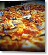 Pizza Pie For The Eye Metal Print