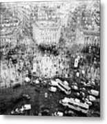 Place Charles De Gaulle Metal Print